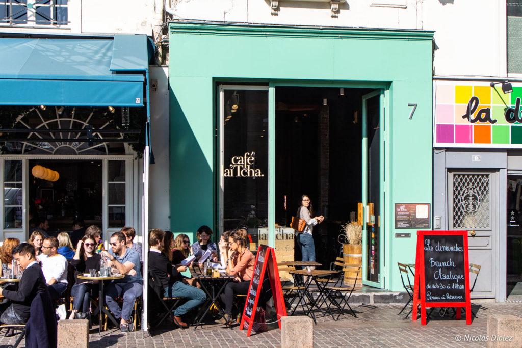 façade Café Lai Tcha Paris