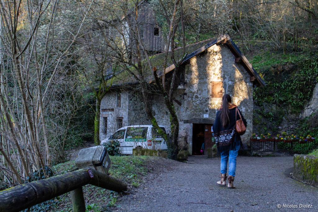 Moulin à huile de Chanaz Savoie