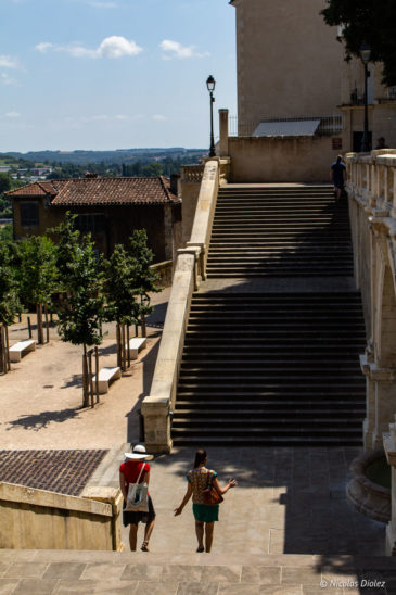Escalier Auch Gers