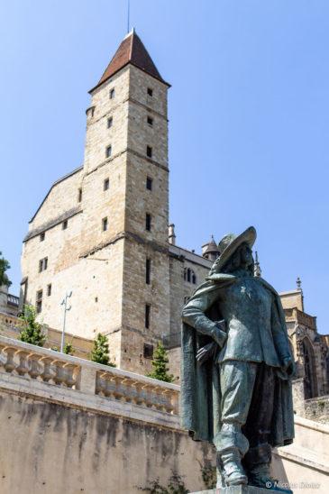 Statue d'Artagnan Auch Gers