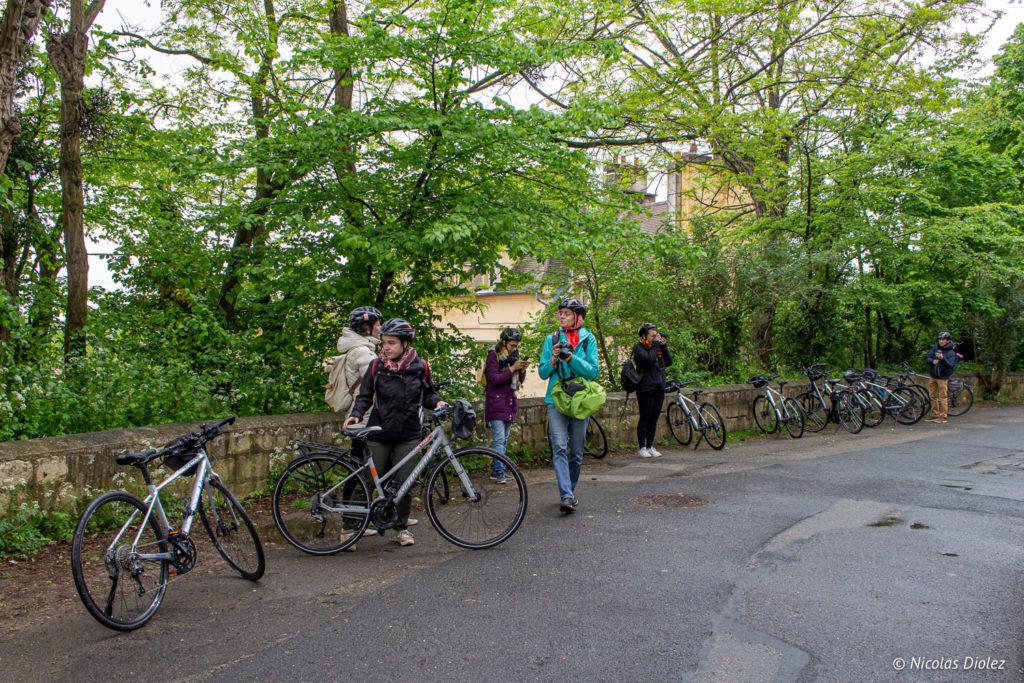 vélos Auvers-sur-Oise - DR Nicolas Diolez 2019