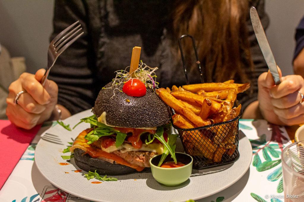 Burger L'Atelier Gourmand Auvers-sur-Oise