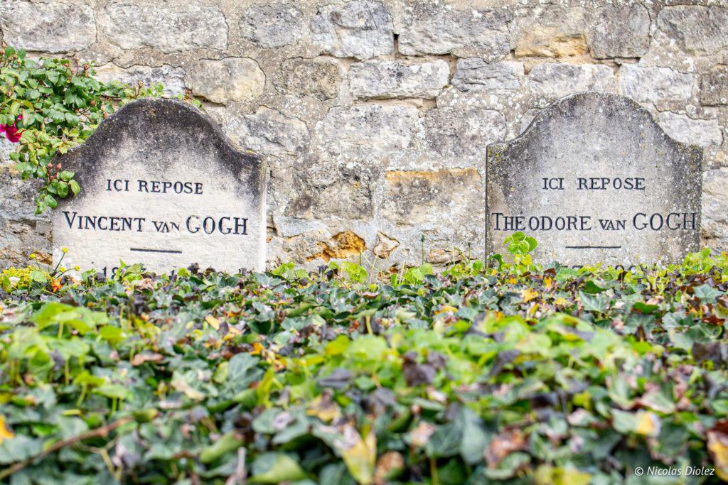 tombes Van Gogh Auvers-sur-Oise
