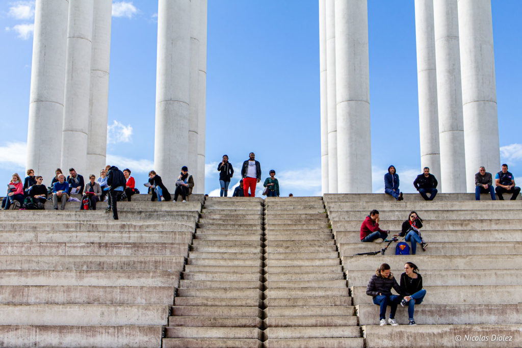colonnes Cergy
