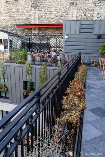 Rooftop Hotel des Grands Boulevards