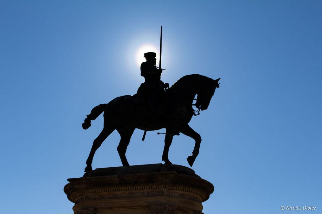 statue Château Chantilly