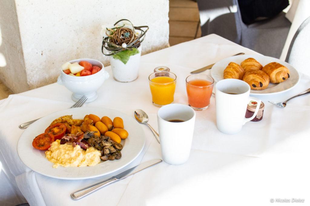 Petit déjeuner Mercure Chantilly