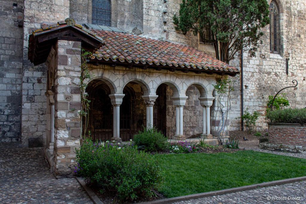 cloître Saint-Salvi Albi - DR Nicolas Diolez 2019