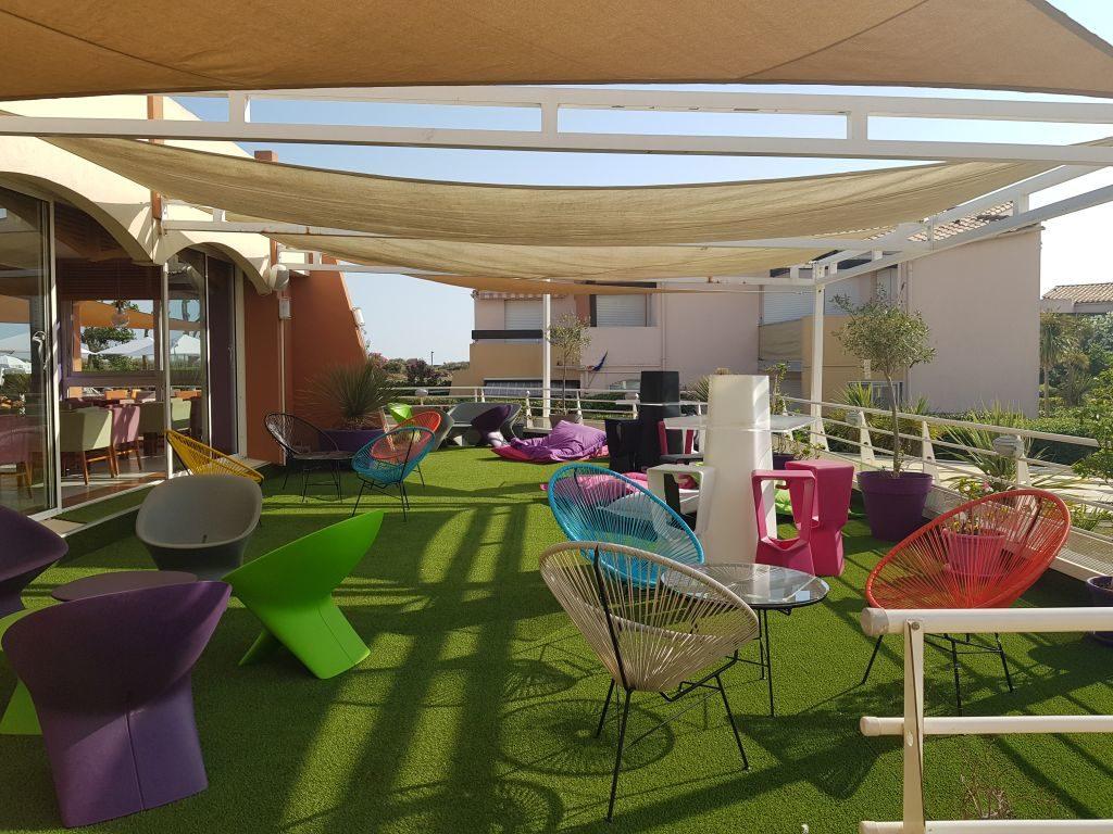 terrasse hotel Capao