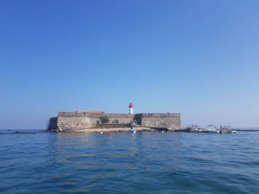 Fort de Brescou Cap d'Agde