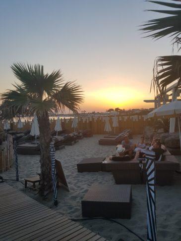 coucher de soleil cap d'Agde