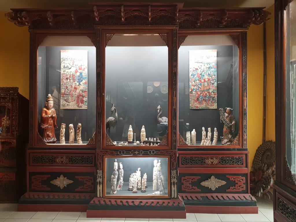 vitrine musée