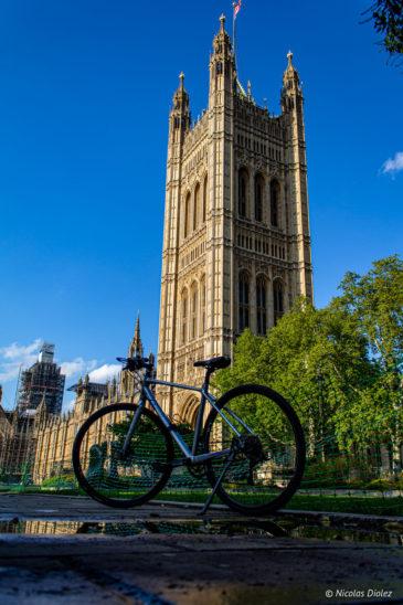 Westminster Londres vélo