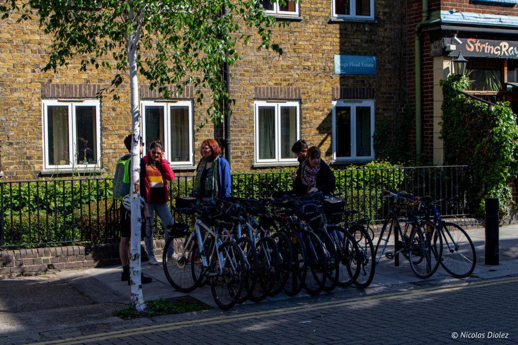 vélos Londres