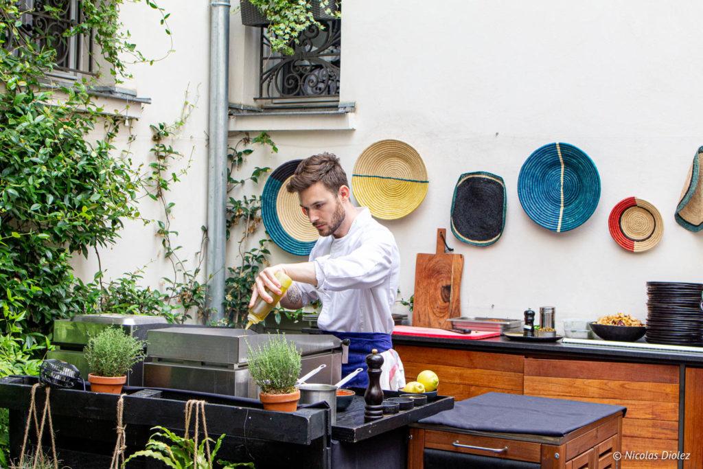 chef restaurant Roch Hotel