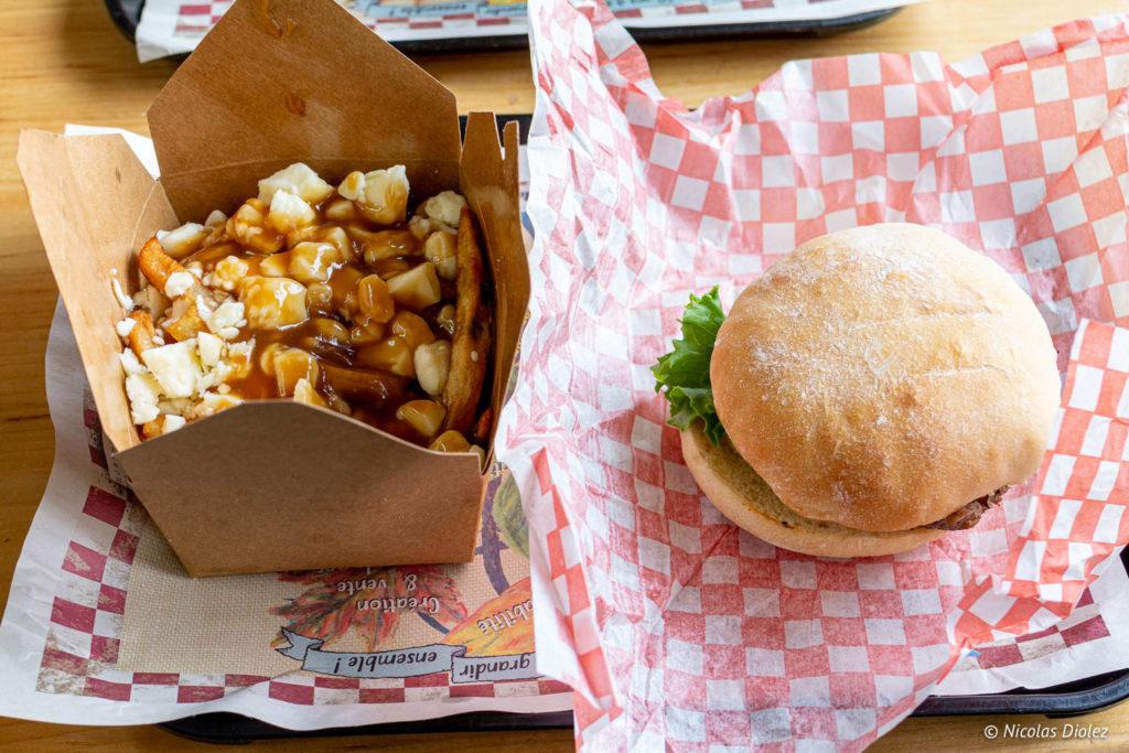 burger poutine