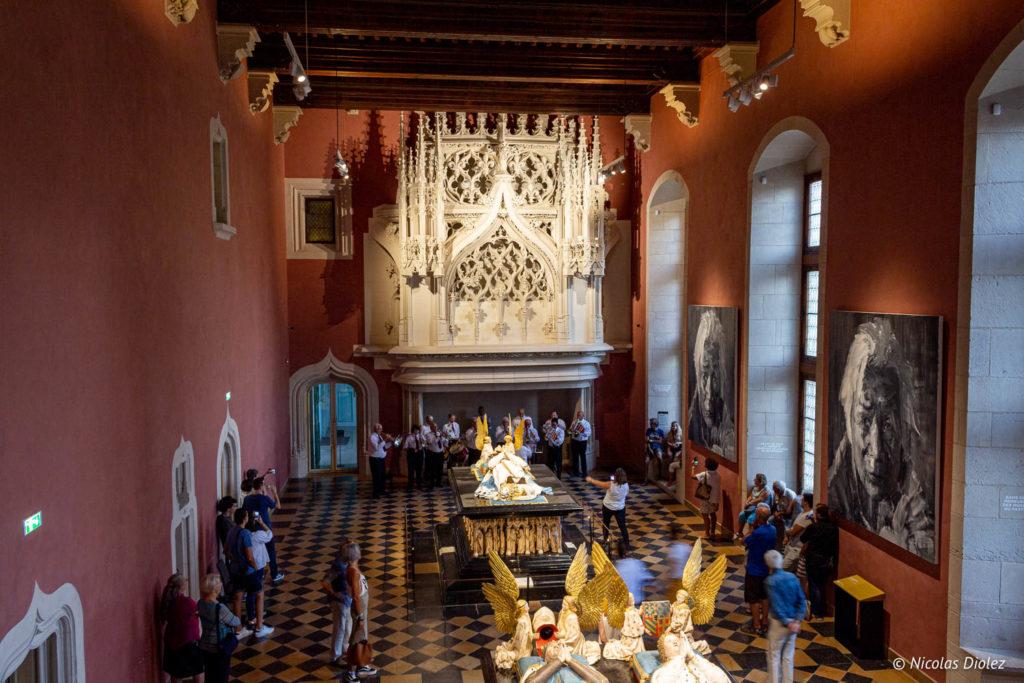 tombeaux ducs de Bourgogne
