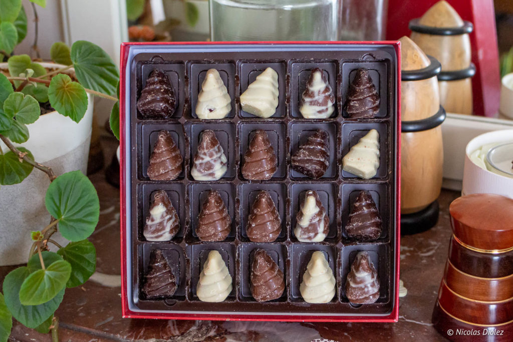 chocolats sapins