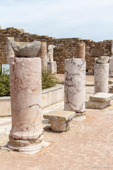colonnes marbre
