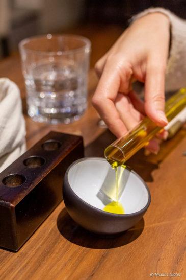 Huile d'olive service