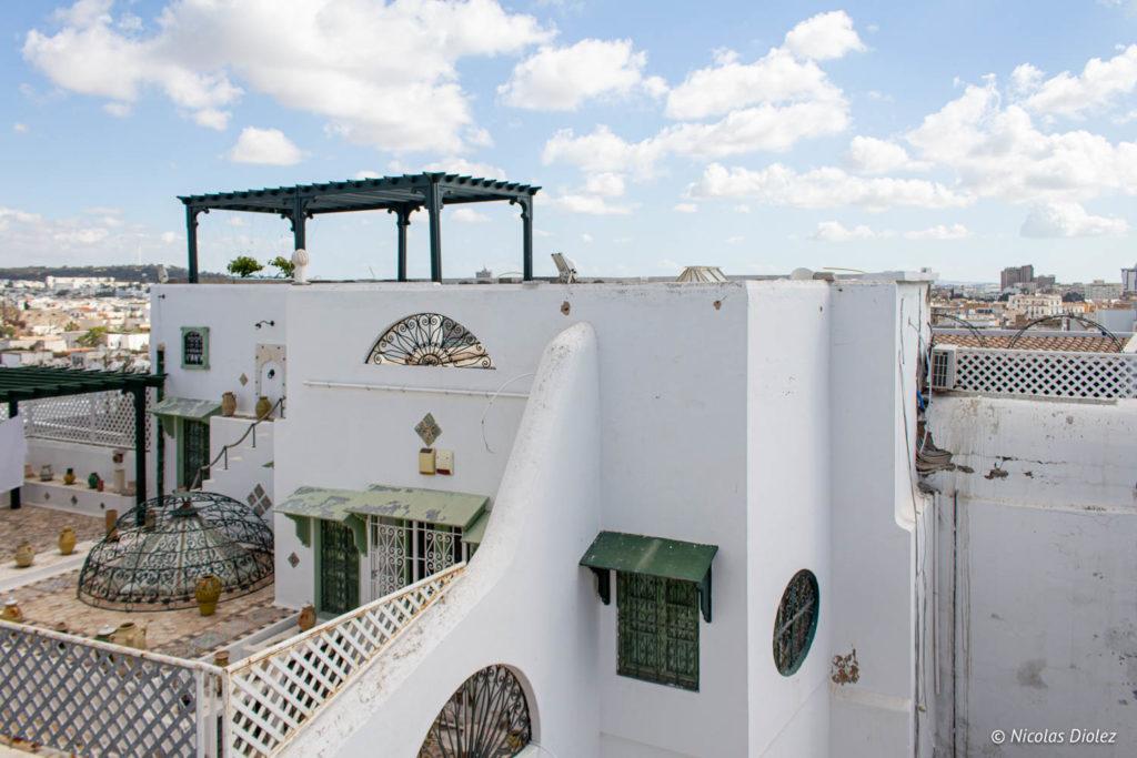 toits Tunis