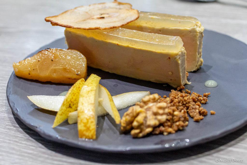 foie gras mi-cuit des Fermiers Gastronomes